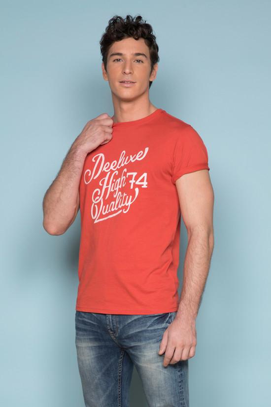 T-shirt KELVIN Man S19173 (44404) - DEELUXE-SHOP
