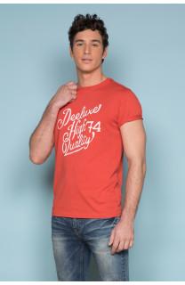 T-shirt T-shirt KELVIN Man S19173 (44404) - DEELUXE-SHOP