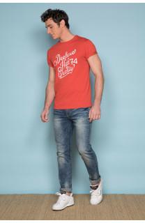 T-shirt T-shirt KELVIN Man S19173 (44405) - DEELUXE-SHOP