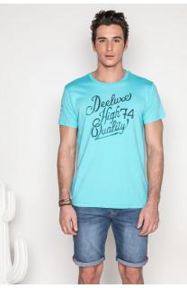 T-shirt T-shirt KELVIN Man S19173 (44412) - DEELUXE-SHOP