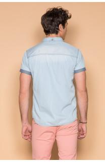 Shirt Shirt SLIMASON Man S19425 (44558) - DEELUXE-SHOP