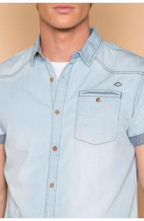 Shirt Shirt SLIMASON Man S19425 (44559) - DEELUXE-SHOP