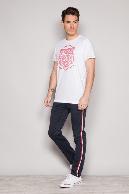 T-shirt T-shirt TIGERO Man S19152 (44620) - DEELUXE-SHOP