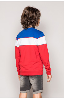 Sweatshirt DRIBBLE Boy S19517B (44738) - DEELUXE-SHOP