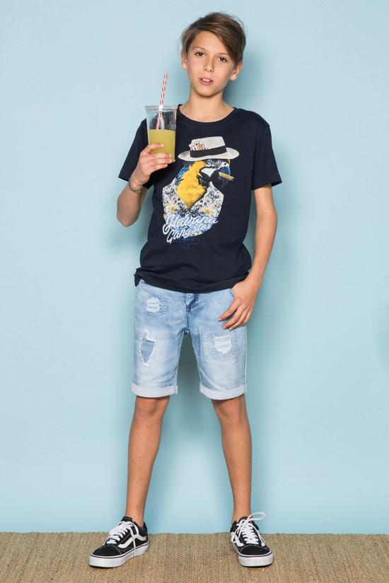 T-shirt T-shirt HAVANA Boy S191108B (44790) - DEELUXE-SHOP