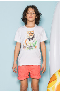 T-shirt TIGROU Boy S19144B (44842) - DEELUXE-SHOP