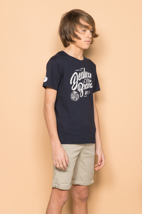 T-shirt T-shirt SESSION Boy S19177B (44888) - DEELUXE-SHOP