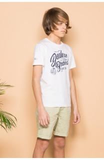 T-shirt T-shirt SESSION Boy S19177B (44893) - DEELUXE-SHOP