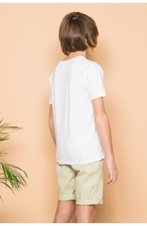 T-shirt T-shirt SESSION Boy S19177B (44896) - DEELUXE-SHOP
