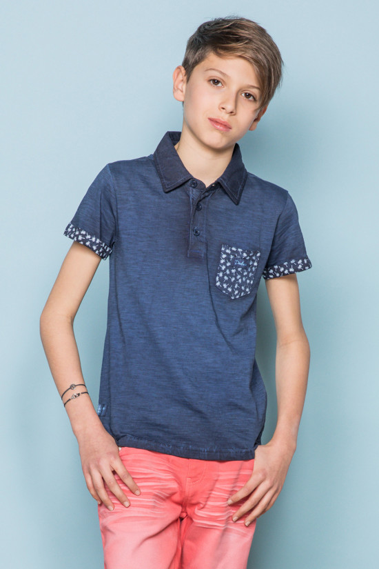 Polo shirt ADAMSON Boy S19226B (44938) - DEELUXE-SHOP