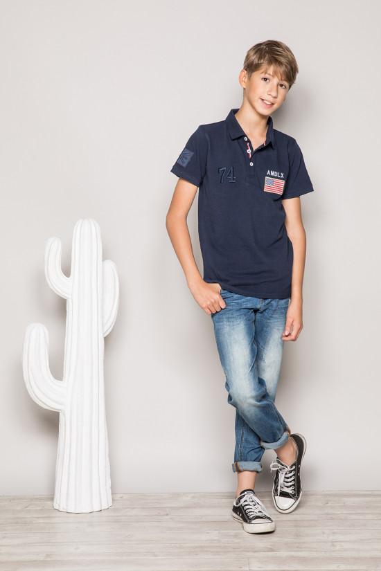 Polo shirt Polo shirt DRISKY Boy S19231B (44943) - DEELUXE-SHOP