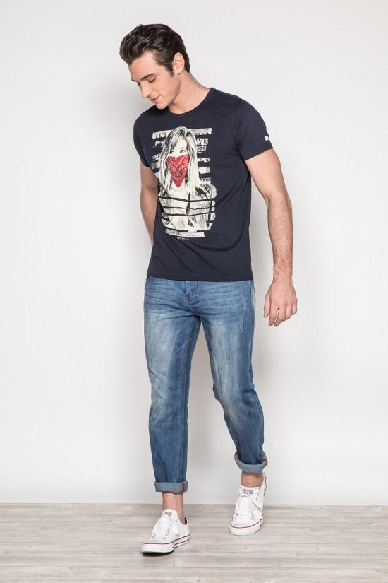 T-shirt BONNIE Homme Deeluxe