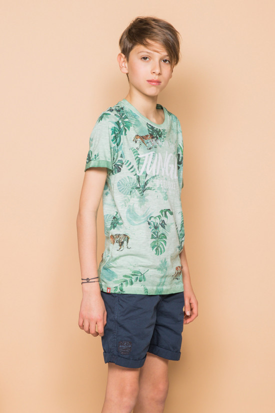 T-shirt JOSHUA Boy S19108B (45074) - DEELUXE-SHOP