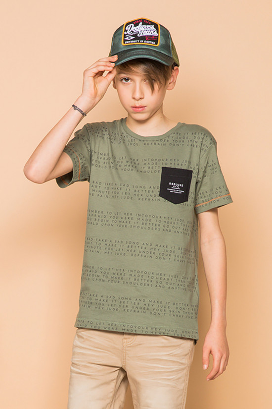 T-shirt SCRIPT Boy S19125B (45114) - DEELUXE-SHOP