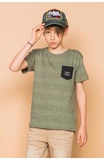 T-shirt SCRIPT Boy S19125B (45114) - DEELUXE-SHOP