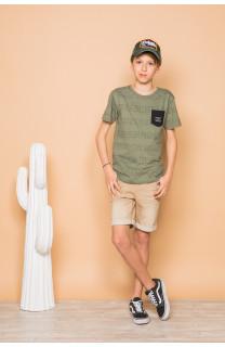 T-shirt SCRIPT Boy S19125B (45115) - DEELUXE-SHOP