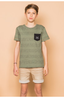 T-shirt SCRIPT Boy S19125B (45116) - DEELUXE-SHOP