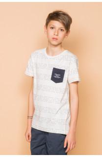 T-shirt SCRIPT Boy S19125B (45119) - DEELUXE-SHOP