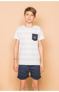 T-shirt SCRIPT Boy S19125B (45120) - DEELUXE-SHOP