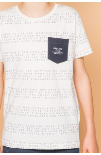 T-shirt SCRIPT Boy S19125B (45122) - DEELUXE-SHOP