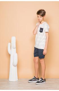 T-shirt SCRIPT Boy S19125B (45123) - DEELUXE-SHOP