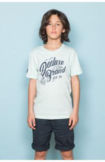 T-shirt T-shirt SESSION Boy S19177B (45146) - DEELUXE-SHOP