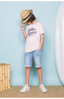 T-shirt T-shirt SESSION Boy S19177B (45150) - DEELUXE-SHOP