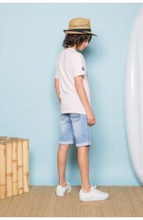 T-shirt T-shirt SESSION Boy S19177B (45152) - DEELUXE-SHOP