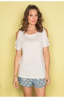 T-shirt T-shirt IRINA Woman S19133W (45717) - DEELUXE-SHOP