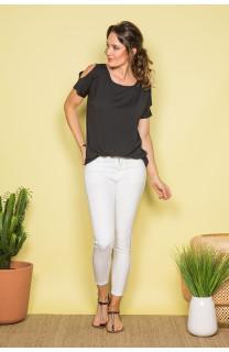 T-shirt T-shirt IRINA Woman S19133W (45750) - DEELUXE-SHOP