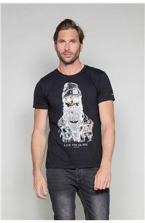 T-shirt TELLIER Man W19156 (46027) - DEELUXE-SHOP