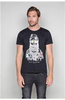 T-shirt TELLIER Man W19156 (46029) - DEELUXE-SHOP