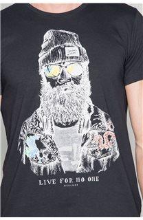 T-shirt TELLIER Man W19156 (46031) - DEELUXE-SHOP