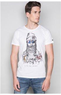 T-shirt TELLIER Man W19156 (46032) - DEELUXE-SHOP