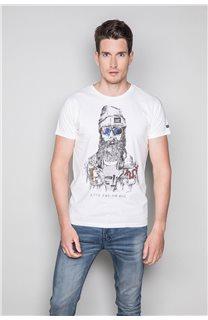 T-shirt TELLIER Man W19156 (46034) - DEELUXE-SHOP