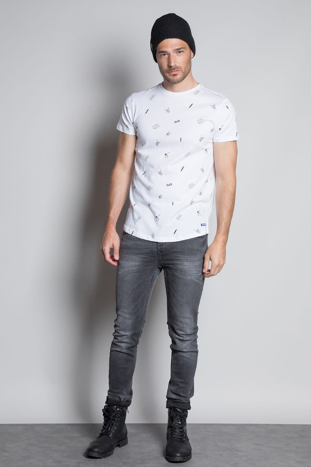 T-shirt NOTSORRY Man W19108 (46082) - DEELUXE-SHOP