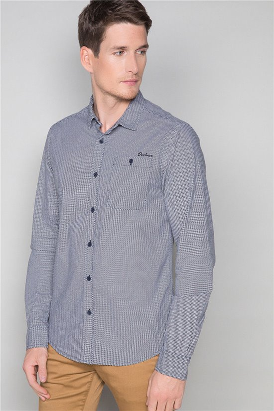 Shirt Shirt CRUSON Man W19419 (46087) - DEELUXE-SHOP