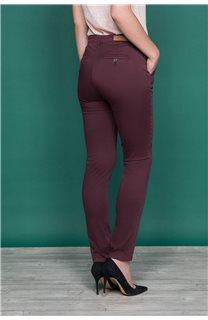 Pant TINO Woman W19731W (46140) - DEELUXE-SHOP