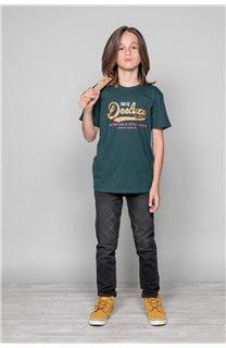 T-shirt BACK Boy W191109B (46247) - DEELUXE-SHOP