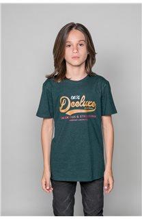 T-shirt BACK Boy W191109B (46248) - DEELUXE-SHOP