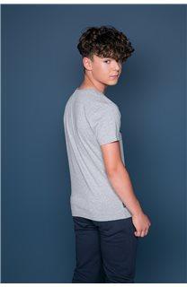T-shirt BACK Boy W191109B (46254) - DEELUXE-SHOP