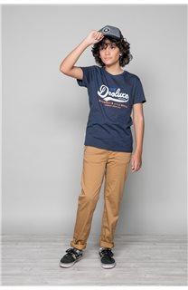 T-shirt BACK Boy W191109B (46257) - DEELUXE-SHOP