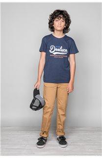 T-shirt BACK Boy W191109B (46258) - DEELUXE-SHOP