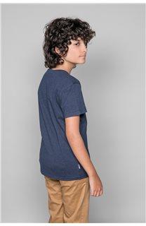 T-shirt BACK Boy W191109B (46259) - DEELUXE-SHOP