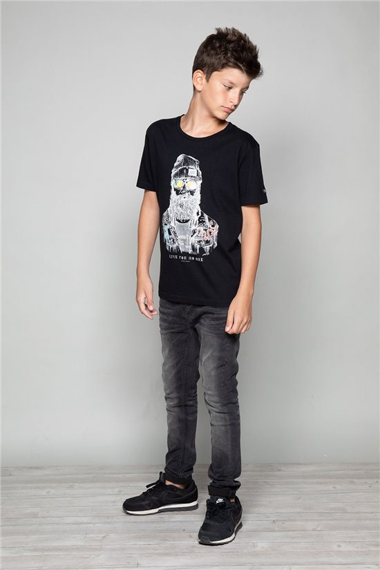 T-shirt TELLIER Boy W19156B (46281) - DEELUXE-SHOP