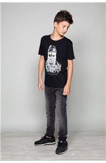 T-shirt T-shirt TELLIER Boy W19156B (46282) - DEELUXE-SHOP