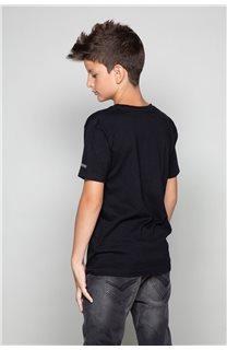 T-shirt T-shirt TELLIER Boy W19156B (46284) - DEELUXE-SHOP