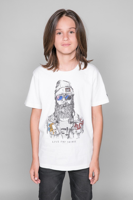 T-shirt T-shirt TELLIER Boy W19156B (46286) - DEELUXE-SHOP