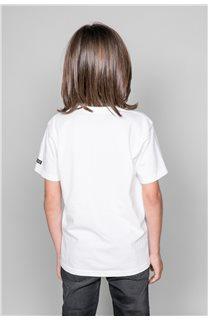 T-shirt T-shirt TELLIER Boy W19156B (46289) - DEELUXE-SHOP