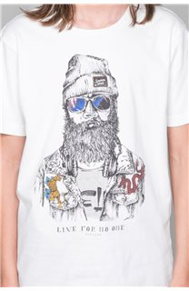 T-shirt T-shirt TELLIER Boy W19156B (46290) - DEELUXE-SHOP